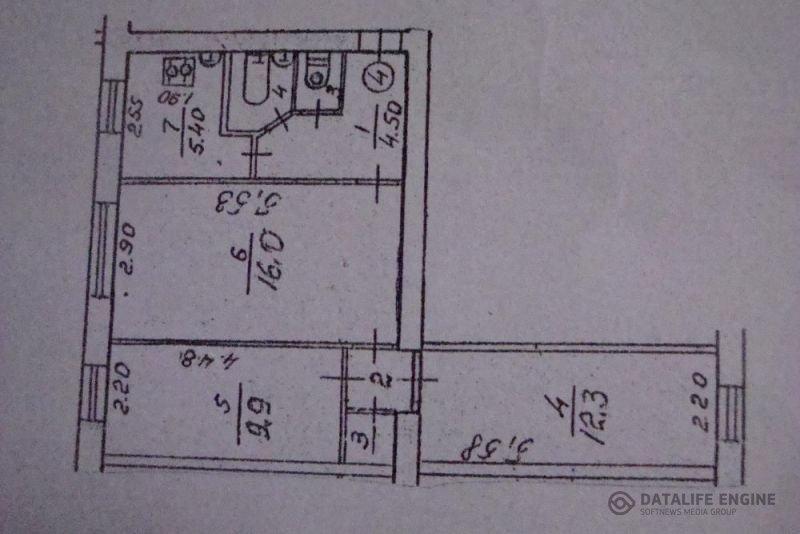 Трехкомнатная квартира под офис в Чернигове