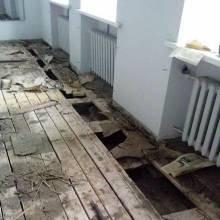 У міськраді зірвали підлогу