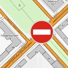 Детально про зміни руху маршрутного транспорту Чернігова через перекриття центрального перехрестя