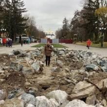 Громадські слухання щодо проектів реконструкції Алеї героїв і Валу призначені на 8 грудня