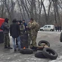 Активісти перекрили виїзд з Чернігова