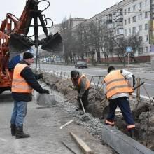 У Чернігові 11 січня продовжено ремонт дороги на вулиці Рокосовського