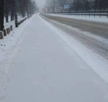 У Києві ще зима, а в Чернігові уже весна