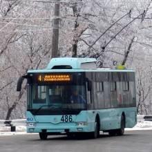 Тролейбус чернігівського заводу купили для Слов'янська