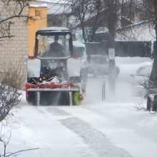 Для трактора «засада» - сніг не прибереш
