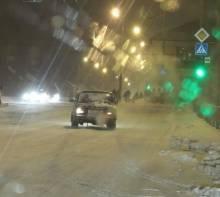 Великий сніг в Чернігові прийшов на добу