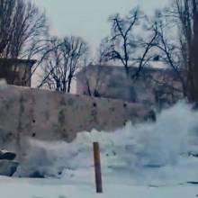 Постамент Леніна в Чернігові звалено