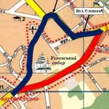 23–27 квітня буде перекрита вул. Толстого