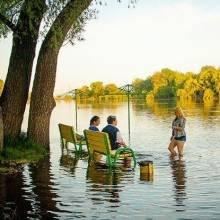 Річка під час водопілля особливо небезпечна. Пляжу до спаду Десни в Чернігові не відкриють