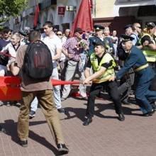 Комун-провокація на 9 травня в Чернігові