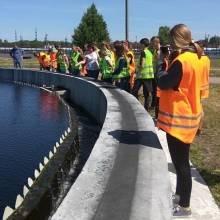 Обдарованій молоді показали… каналізаційні відстійники