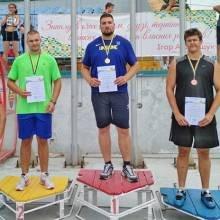 Чернігівські легкоатлети вибороли медалі Чемпіонату України