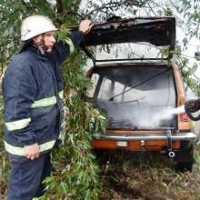 В старому ВАЗі згорів 43-річний водій