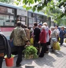 На дачу на безкоштовному автобусі