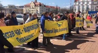 Незвичайну акцію провели учора на Красній площі Чернігові.