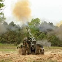 Артилеристи на Чернігівщині знищували піхоту та вели контрбатарейну боротьбу