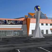 Спорткомплекс в Чернігові на Ремзаводі