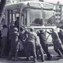 Зупинились тролейбуси 6 маршрутів