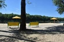На пляжі «Золотий берег» знову можна купатися