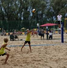 На міському пляжі – Чемпіонат України з волейболу
