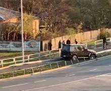 Авто, яке в соцмережах пов'язали з Атрошенком, потрапило в ДТП. Міський голова дав пояснення