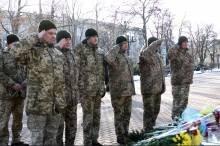 До дня ЗСУ у Чернігові нагородили кращих військовослужбовців і вшанували полеглих Героїв