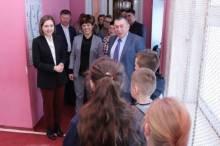 На Чернігівщині з робочим візитом перебуває Ганна Новосад