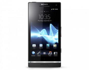 Начались мировые поставки смартфона Sony Xperia S