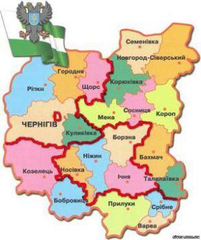 ЦИК установил количество одномандатных округов в каждой области. В Черниговской - 6