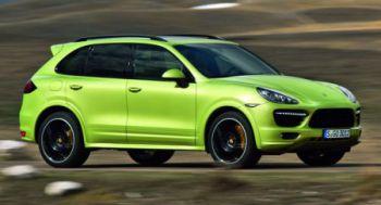 Porsche везет в Пекин новую модель Cayenne GTS