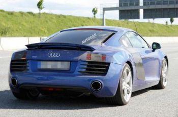 Фотошпионы рассекретили обновленный Audi R8