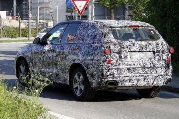 Фотошпионы рассекретили новый BMW X5
