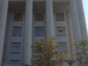 Тігіпко вивісив на своєму вікні український прапор