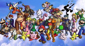 ������ �������� ��������� ����� Super Smash Bros.