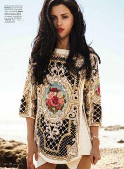 Такая взрослая Селена Гомес на обложке Elle