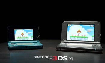 Консоль Nintendo 3DS XL выпустят в конце июля