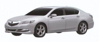 Полноприводный флагманский седан Acura RLX появится в 2013-м