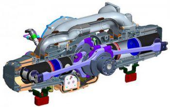 Бывший моторист VW построил двухцилиндровый 325-сильный дизель