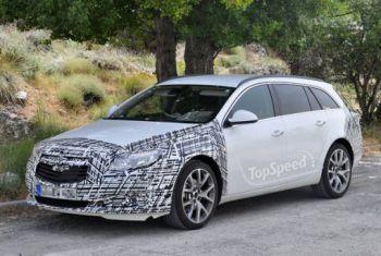Новий Opel Insignia знову потрапляє в об'єктиви камер Повідомити про помилку