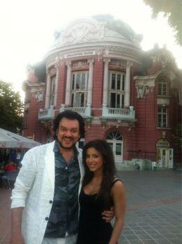 Ани Лорак и Филипп Киркоров на романтической прогулке в Софии! Мурат будет кусать локти!
