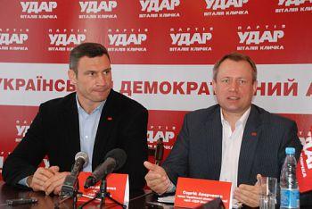 Кличко поки не затвердив кандидатами керівників чернігівського УДАРУ. Список