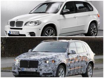 Новую BMW X5 представят в 2013 году