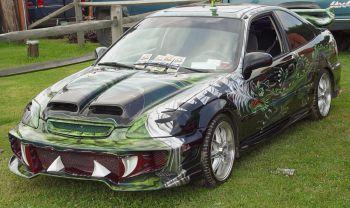 Владелец 30-летнего Civic устроил своему авто похороны
