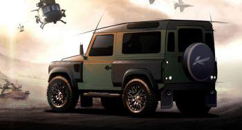 Kahn Design придал Land Rover Defender военную внешность