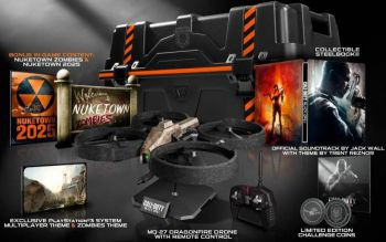 Летающего дрона положат в коробку с Call of Duty: Black Ops 2