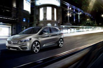 BMW представила предсерийный 190-сильный минивэн