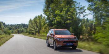 Outlander 2012 прошел первый тест на украинских дорогах