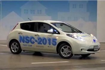 Nissan представив автоматичний автомобіль NSC-2015
