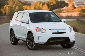 Toyota RAV4 EV установила рекорд по продажам электромобилей в первый месяц