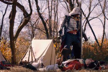 Коннор убивает британцев в любительской экранизации Assassin's Creed 3
